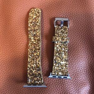 Glitter Apple Watch band